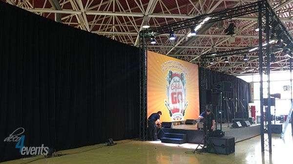 cortinas para evento