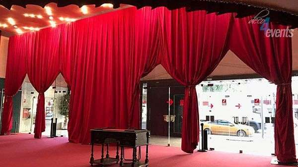 Curtains for events