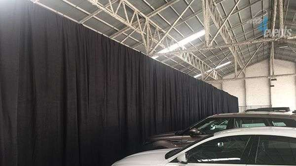 event curtain structure