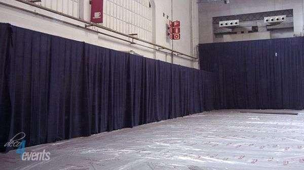 Estructura per cortines