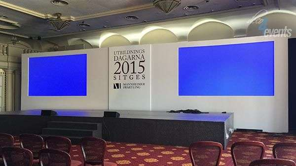 Events backdrops