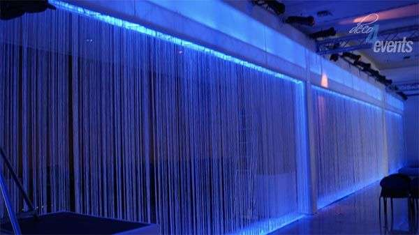 cortina de flecos